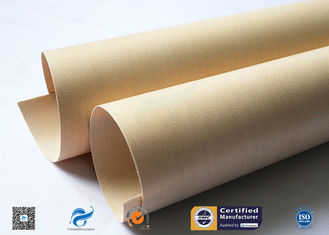 Multi Color PTFE Coated Glass Cloth / Insulation PTFE Coated Glass Fabric