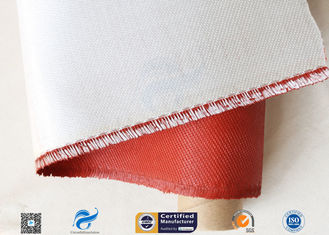 China 0.45mm 470gsm Fiberglass Fabric Fireproof Insulation Material With Silicone Coated supplier