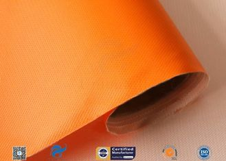 3732 Orange Fire Resistant Silicone Coated Fiberglass Fabric Glass Fiber Cloth