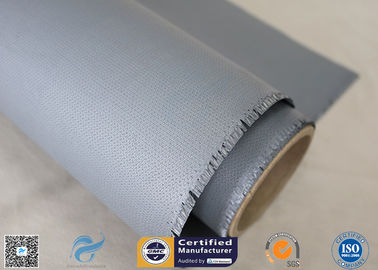 China Electrical Insulation 40/40g 1.2m Width 260℃ Silicone Coated Fiberglass Fabric supplier