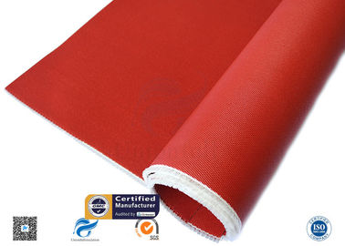3784 C Glass Red Silicone Coated Fiberglass Cloth Thermal Insulation Cover