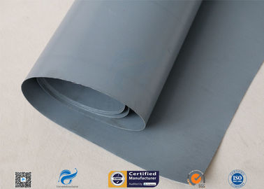 China 100cm Width PVC Coated Fiberglass Cloth For Fire Resistant / Waterproof Air Duct supplier