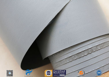 China 7628 320g Waterproof PVC Coated Fiberglass Fabric For Flexible Air Ductwork supplier