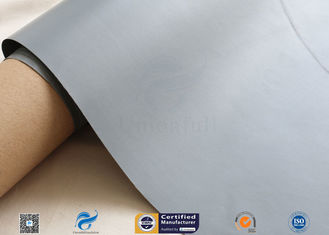 China Waterproof Grey PVC Coated Fiberglass Fabric 7628 Glass Fiber Fabric supplier