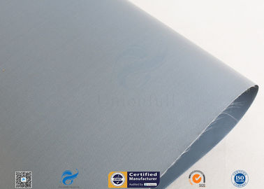 China 7628 Grey Waterproof PVC Coated Fiberglass Cloth Fabric Duct Glass Fiber Cloth supplier