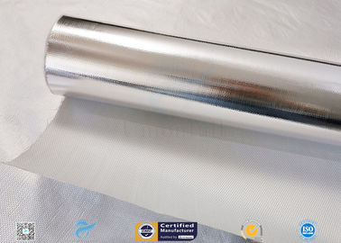 China Fiberglass Fabric Laminated Aluminium Foil Insulation Blanket supplier