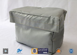 China Grey High Temperature Fire Resistant Removable Insulation Covers supplier