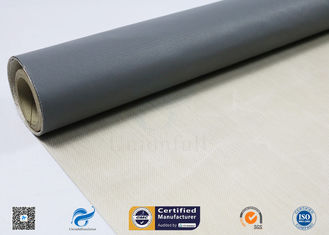 China Satin Weave PTFE Coated Glass Fibre Fabric 260℃ High Temperature Resistance supplier