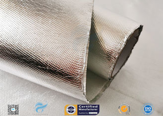 China Industrial Hose Silver Coated Fabric Heat Sealing Aluminium Foil Coating supplier