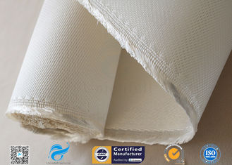 China Asbestos free Satin Weave Silica Fabric Thermal Insulation 37oz High Silica Cloth supplier