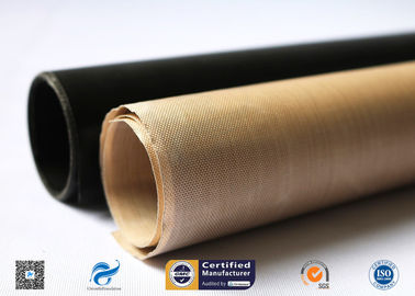 High Temperature Resistant And Anti-Sticking PTFE Coated Fiberglass Fabric