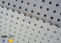 China Construction Industry Lightweight Fiberglass Cloth Coated Grey PVC Materials factory
