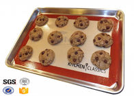 China Heavy Duty Oven Silicone Baking Sheet Dishwasher Safe 40cm X 50cm factory