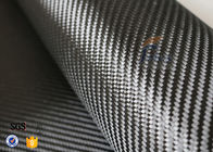 China 3K 240gsm Carbon Fiber Cloth Twill Weave Decoration Silver Coated Cloth factory
