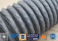 10M PVC Coated Fiberglass Fabric HVAC Flexible Air Ducting 150MM Diameter