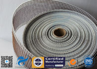 China Black / Brown PTFE Coated Fiberglass Fabric Open Mesh Conveyor Belt factory