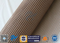 China 4 * 4 Heat Resistant PTFE  Coated Fiberglass Mesh For Conveyor Belt factory