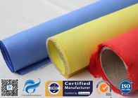 China Red Silicone Rubber Coated Fiberglass Engineer Acoustic Insulation Fabric Material factory