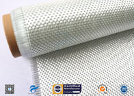 High Temperature Resistant Fiberglass Fabric , Woven Roving Cloth With High Strength