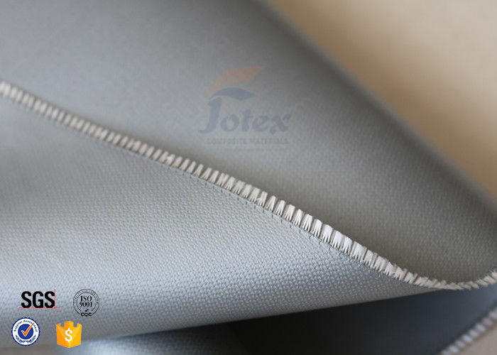 Grey mm g silicone coated fiberglass fabric for