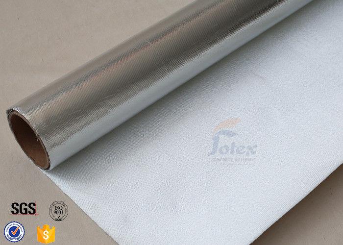 Heat resistant silver coated fabric aluminium foil for Is fiberglass heat resistant