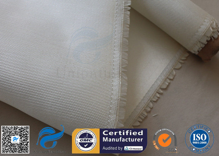800℃ Break Twill Fiberglass Cloth High Silica Glass Fiber