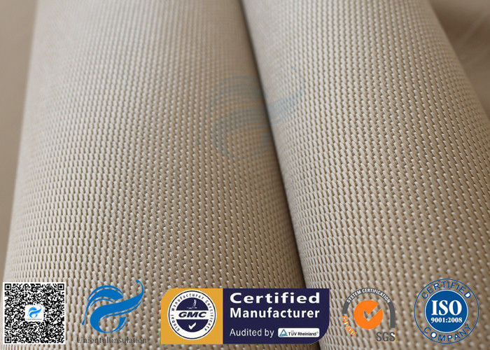 1150gsm 1 2mm Brown High Silica Fabric 800℃ Alumina Silica Thermal