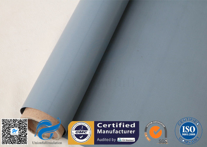 0 3mm PVC Coated Fibreglass Fabric For Fire Blanket Fire