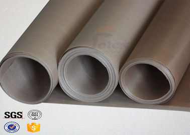 China Non-asbestos PVC Fibreglass Fabric Tear Resistant for Aircraft / Ship factory