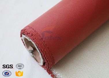China High Temperature fiberglass Clothing 26oz High Silica Cloth Fabric factory