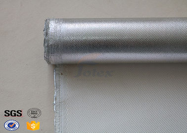 China Welding Blanket Industrial High Silica Fabric Aluminum Coated fiberglass factory