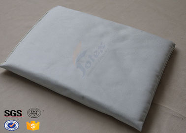 China 1 Side 25mm Fiberglass Needle Mat Sewn with Silicone Coated Fabric factory