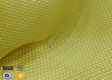 China Yellowish Motorcycle Clothing Kevlar Aramid Fabric 0.3 Thickness factory