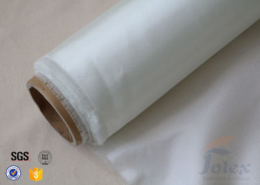 China 4oz White Transparent Fiberglass Fabric / Fibreglass Fabric For Surfboard Building factory