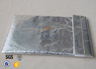 "China Eco-Friendly Safe Protective Fire Resistant Document Storage Bag 6.7"" x 10.6"" factory"