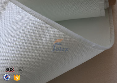 China 3732 0.4mm Satin Glass Fibre Cloth / Fire Resistant Fiberglass Fabric factory