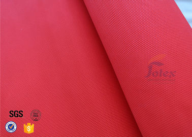 China 0.35mm Acrylic Coated Fiberglass Fabric Fire Blanket For Industrial Protection factory