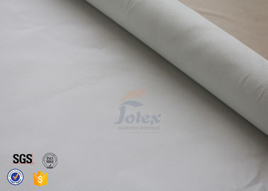 China White 0.5mm Silicone Coated Fiberglass Fabric For Household Fire Blanket factory