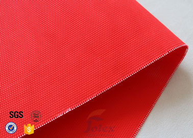 China 480GSM Plain Weave Acrylic Coated Fiberglass Fabric For Industrial Fire Blanket factory