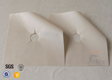 China PTFE Coated glass fibre fabric Gas Range Cover Stovetop Burner Protector factory