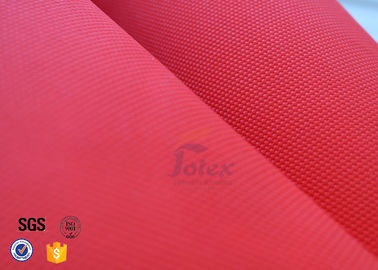 "China Industrial Fiberglass Fire Blanket 14oz 39"" Red Acrylic Coated Fiberglass Fabric factory"