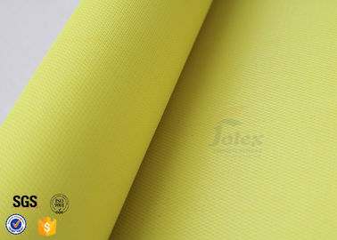 China Welding Protection PU Coated Fiberglass Fabric 530g 550 Degree C Fire Blanket factory