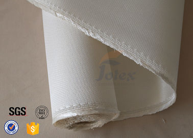 China Heat Insulation 1.3mm Fiberglass Silica Fabric For 1200℃ Kilns Oven factory