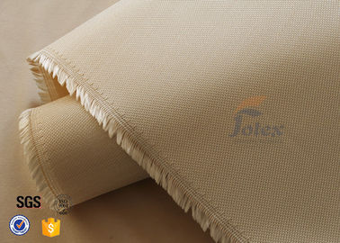 China Brown 0.7MM Silica Fabric Fiberglass Thermal Insulation Materials High Strength factory