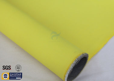 China Acrylic Fiberglass Fire Blanket Fabric Yellow 15OZ 3732 Anti Corrosion Chemical factory