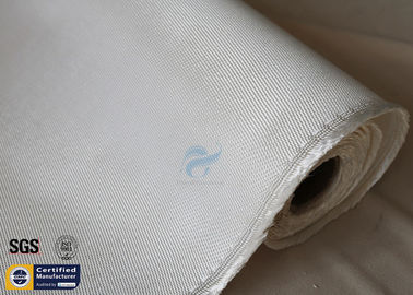 China High Silica Fabric 36OZ White 1.3MM 1200℃ High Temperature Furnace Door Lining distributor