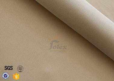 "China High Silica Woven Fabric 1200℃ Welding Heat Resistant 1200GSM 39"" Brown distributor"