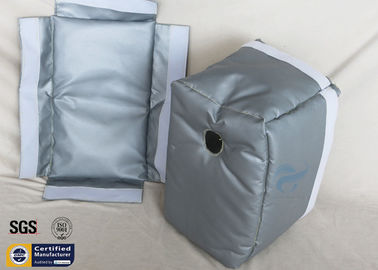 China Thermal Insulation Jackets Removable Actuator Heat Resistant Blanket  300℃ 25MM factory