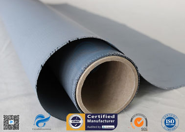 China 260℃ High Temp Resistant 18oz 0.45mm E - Glass Silicone Coated Fiberglass Fabric factory