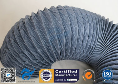 China Waterproof / Fire Resistant PVC Coated Fiberglass Fabric For Flexible Air Ducting factory